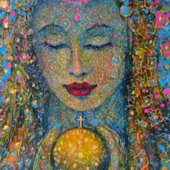 The Return of the Divine Feminine Artist Leigh J. McCloskey